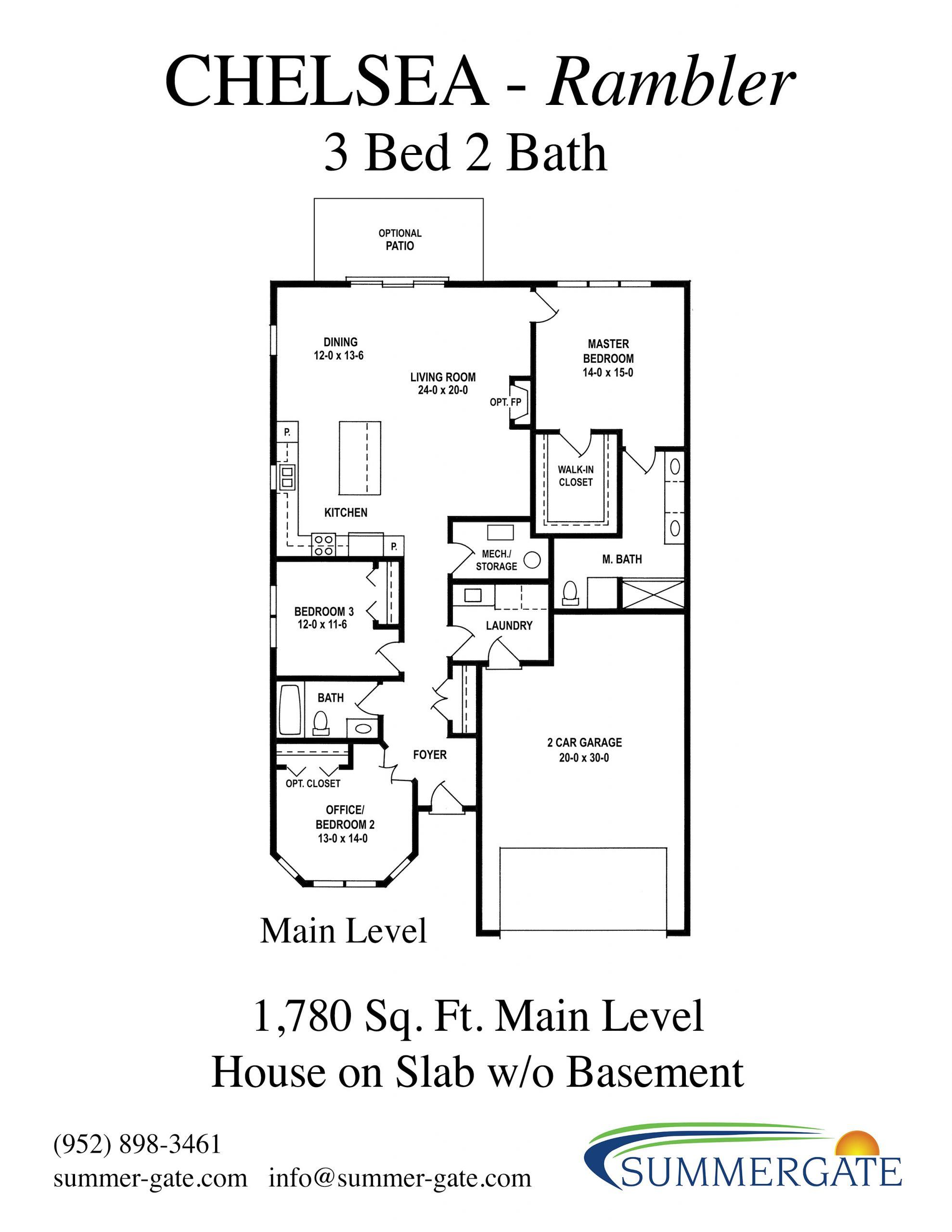 Chelsea Slab Floor Handout
