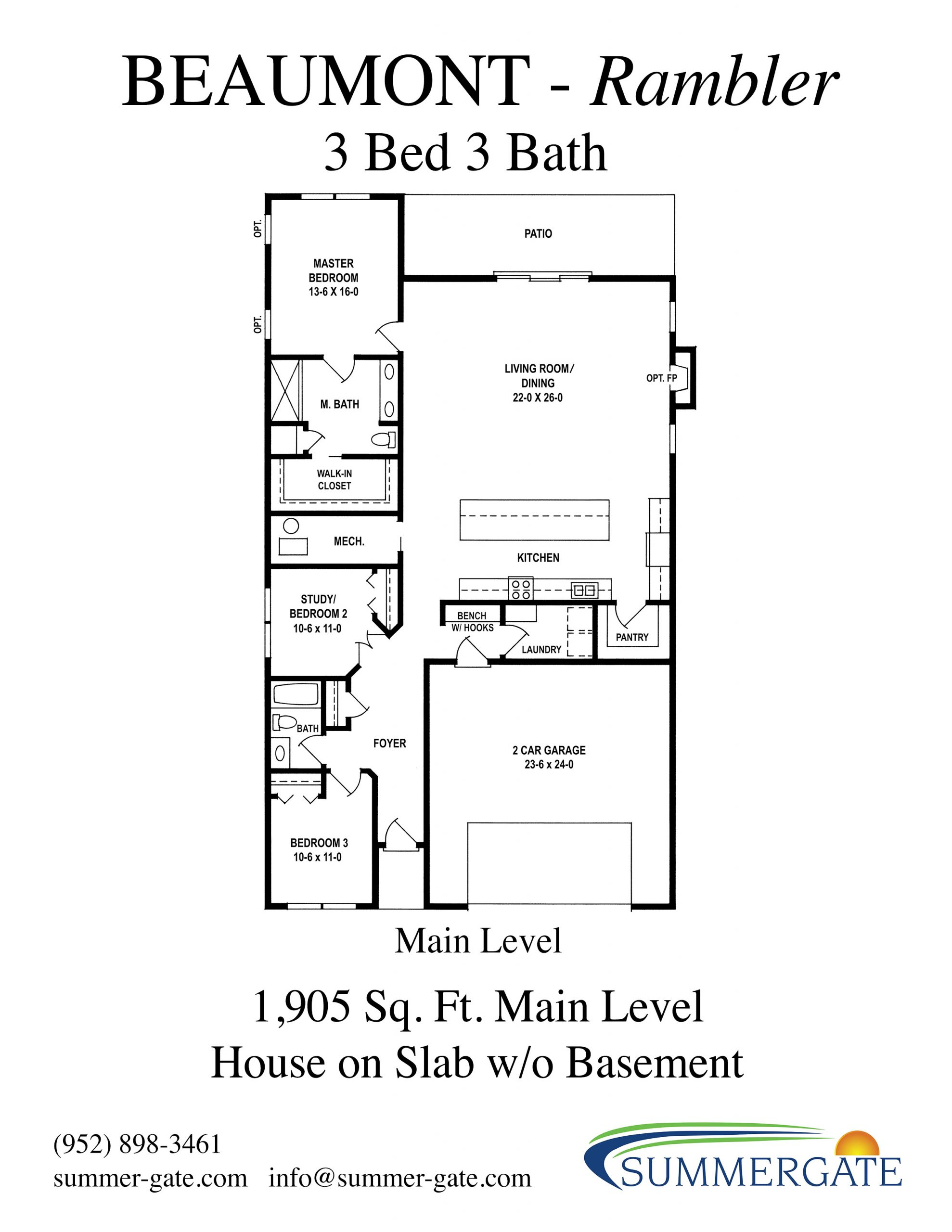 Beaumont Floor Slab Handout Revised